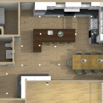 Dollhouse Overview of Kitchen Remodeling Designs in Watchung NJ (1)-Design Build Planners