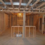 Luxury Basement in Bridgewater NJ In Progress 5-31-2015 (7)