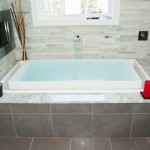 Overflow infinity tub - Design Build Planners