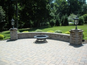 firepit for patio and outdoor living space - Design Build Planners