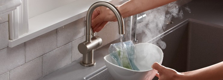 insta hot spout for kitchen remodeling - Design Build Planners