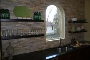open floating shelves for kitchen remodeling - Design Build Planners