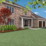 CAD of Exterior Remodel in Middlesex County (2)