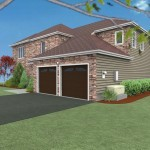 CAD of Exterior Remodel in Middlesex County (4)