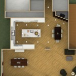 Dollhouse Overview Kitchen Remodel and Reconfiguration in Warren, NJ (1)