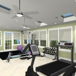 Exercise Room Remodel in Middlesex County CAD (1)