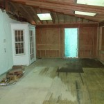 Exercise Room Remodel in Middlesex County In Progress