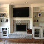 Fireplace and Shelf Renovation (1)
