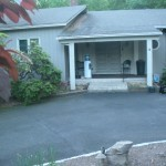 Front Entry Portico in Scotch Plains NJ Before (1)
