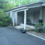 Front Entry Portico in Scotch Plains NJ Before (2)