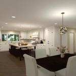 Kitchen Remodel and Reconfiguration in Warren, NJ (1)-Design Build Planners