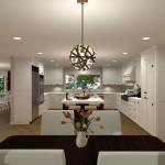Kitchen Remodel and Reconfiguration in Warren, NJ (2)-Design Build Planners