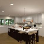 Kitchen Remodel and Reconfiguration in Warren, NJ (3)-Design Build Planners