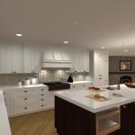 Kitchen Remodel and Reconfiguration in Warren, NJ (4)-Design Build Planners