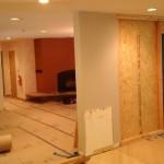 Kitchen Remodel and Reconfiguration in Warren, NJ 5-28-15 In Progress (1)