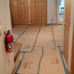Kitchen Remodel and Reconfiguration in Warren, NJ 5-28-15 In Progress (4)