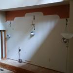 Kitchen Remodel and Reconfiguration in Warren NJ In Progress 7-13-2015 (2)
