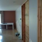 Kitchen Remodel and Reconfiguration in Warren NJ In Progress 7-13-2015 (4)