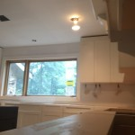 Kitchen Remodel and Reconfiguration in Warren NJ In Progress 8-14-2015 (10)
