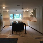 Kitchen Remodel and Reconfiguration in Warren NJ In Progress 8-14-2015 (11)