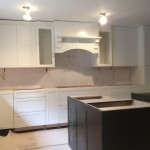 Kitchen Remodel and Reconfiguration in Warren NJ In Progress 8-14-2015 (5)