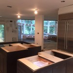 Kitchen Remodel and Reconfiguration in Warren NJ In Progress 8-14-2015 (8)