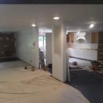 Kitchen Remodel and Reconfiguration in Warren NJ In Progress 8-6-2015 (6)