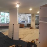 Kitchen Remodel and Reconfiguration in Warren NJ In Progress 8-6-2015 (7)