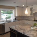 Kitchen Remodel and Reconfiguration in Warren NJ In Progress 9-3-2015 (3)