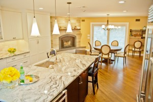Kitchen Remodel and Renconfiguration in Warren NJ (16d)-Design Build Planners