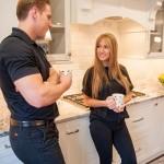 Kitchen Remodel and Renconfiguration in Warren NJ (2c)-Design Build Planners