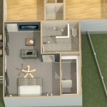 Dollhouse Overview of a Bedroom Suite Addition in Monroe, NJ (1)-Design Build Planners