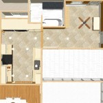 Dollhouse Overview of a Kitchen Remodel in Morris County, NJ (1)-Design Build Planners