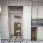 Kitchen Remodel in Monmouth County NJ In Progress 8-4-15 (8)