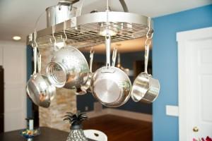 hanging pot rack ~ Design Build Planners (1)