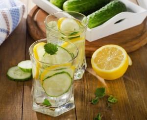 Cucumber Water recipe from Organic Gurlz Gardens of Fort Wayne Indiana