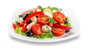 Garden Herb Salad from Organic Gurlz Gardens Fort Wayne Indiana