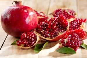 Pomegranate from Organic Gurlz Gardens Fort Wayne Indiana
