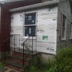 Porch to Bedroom Conversion in New Providence NJ In Progress 7-15-15 (2)