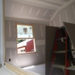 Porch to Bedroom Conversion in New Providence NJ In Progress 8-6-2015 (3)