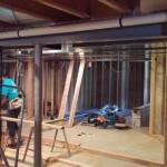 Basement Finishing in Middlesex County NJ In Progress 8-21-2015 (6)