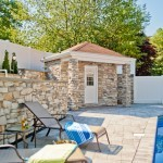 C Pool house with bathroom - Design Build Planners (1)