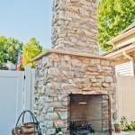 D Custom outdoor fireplace - Design Build Planners (2)