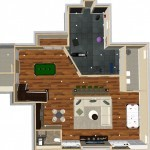 Dollhouse Overview Basement Finishing in Middlesex County, NJ CAD (2)-Design Build