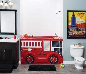 Kid themed bathroom remodeling - Design Build Planners
