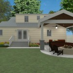 Outdoor Living Space in Union County NJ CAD (5)-Design Build Planners