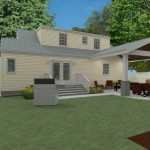 Outdoor Living Space in Union County NJ CAD (7)-Design Build Planners