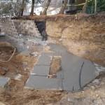 Z progress pix for an outdoor living space - Design Build Planners (1)