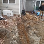 Z progress pix for an outdoor living space - Design Build Planners (2)
