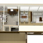Dollhouse Overview of Kitchen Plan 1 (2)-Design Build Planners
